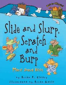 Childrens Books for Teaching Verbs -- list of best picture