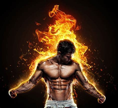 20 Dazzling Fire & Water Effect Photoshop Actions   Pixel