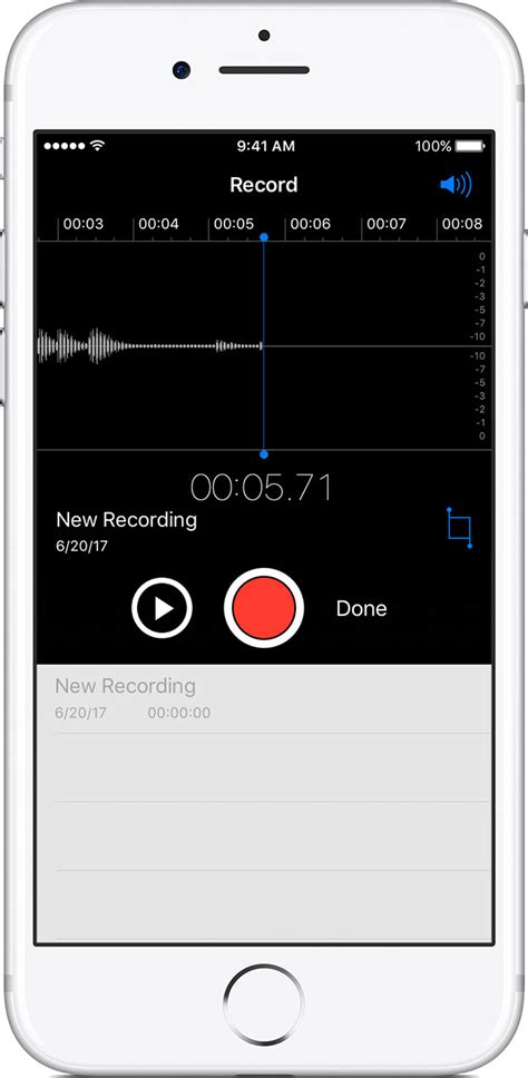Record Voice Memos on your iPhone and iPod touch - Apple Support