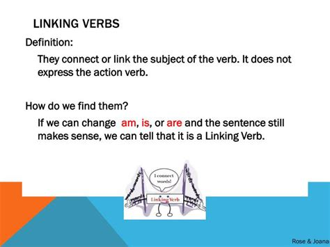 PPT - Verbs: Action, Helping, and Linking PowerPoint